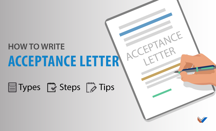Acceptance Letter: Types, Samples and How to Write